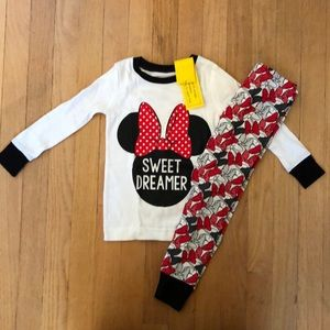Old Navy Minnie Mouse PJ's